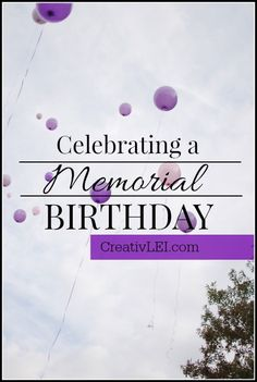 How do you remember the birthday of a child that died? It's kind of impossible to think about. It's so far from the realm of how things are supposed to be.