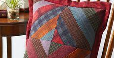 Cozy Flannel Pillow Pattern