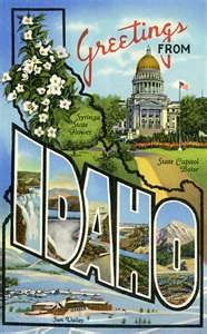 """Idaho State Motto """"Let it be perpetual."""""""