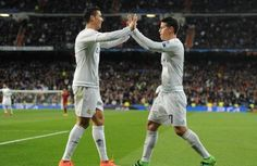 Ronaldo y James llevan al Real Madrid a la clasificación 4tos. de final