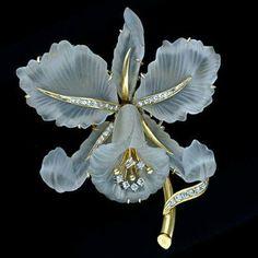 Горный хрусталь и бриллианты