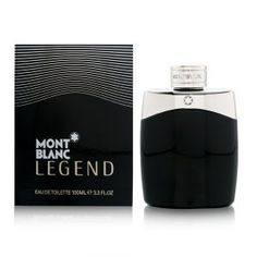 Mont Blanc Legend by Mont Blanc - Men - Eau De Toilette Spray 3.4 oz by Montblanc. $55.95. Montblanc Legend by Montblanc for men. New in Box. **No U.S. Sale Tax** 3.3 oz Eau De Toilette EDT Spray. Legend by Mont Blanc was launched in 2011. Deeply masculine, oozing with confidence , a leader who stands above the rest is what this perfume is all about. Combining old world charm with contemporary tastes, Legend opens with bergamot, lavender, pineapple leaf and ex...