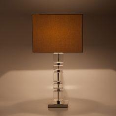 Lamp met glazen blokken - Lampen - Decoratie | Zara Home Holland