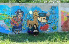 mural RRIOBA Temperley junto a Estallido Color
