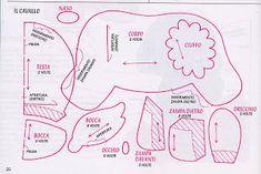 Maripê: Moldes fazendinha em feltro