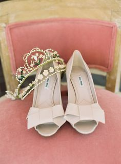 Shoes: Miu Miu |  Brett Heidebrecht Photography | Event Planning + Styling: Lindsey Brunk