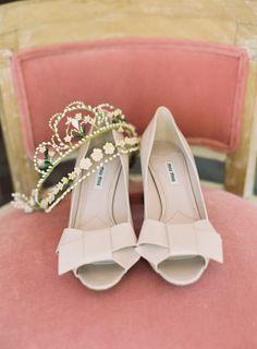 Shoes: Miu Miu |  Brett Heidebrecht Photography | Event Planning + Styling: Lindsey Brunk