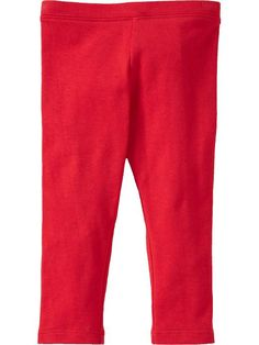 55a6168e6 Old Navy - Jersey Leggings for Baby - Amaryllis Red - $5.00 Under Dress,  Maternity