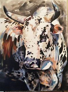 Cow Art, Horse Art, Bull Pictures, Bull Painting, Longhorn Cattle, Acrilic Paintings, Bull Cow, Peacock Art, Bull Riders