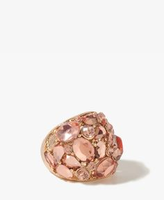 #Forever21                #ring                     #Rhinestoned #Dome #Ring  Rhinestoned Dome Ring                               http://www.seapai.com/product.aspx?PID=96914