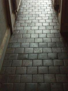Renovation Inspiration: Cartolina's DIY End-Grain Block Flooring | Apartment Therapy