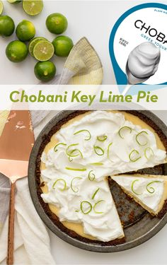 Take this family favorite to another level. Chobani Key Lime Pie is delicious AND lighter than your go-to pie. The Greek Yogurt adds an extra creaminess that is sure to please. Healthy Desserts, Easy Desserts, Delicious Desserts, Dessert Recipes, Yummy Food, Lemon Desserts, Dessert Ideas, Yummy Treats, Sweet Treats