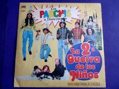 LOS PARCHIS A DISNEY LANDIA MEGA RARE ARGENTINE LP  - 1982 TINO YOLANDA GEMMA #1980s