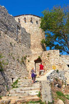 Frankopan Castle- Krk Town, Krk Island, Croatia http://www.casademar.com