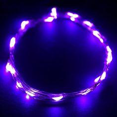 """72"""" WHIMSICAL Fairy Lights LED Purple"""