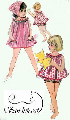 Vintage 1960s Sewing Pattern Butterick 3162 Dress by sandritocat, $9.00