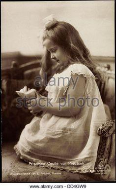 Ak Prinzessin Cecilie von Preußen, Liersch 7993; - Stock Image