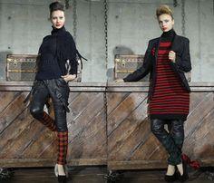 (4) NITZ SCHNEIDER - Mercedes-Benz Fashion Week Tokyo: Japan Fashion Week: Denim & Jeanswear 2013-2014 Fall Winter Womens Runways I