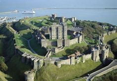 Dover Castle has been the gateway to England since Roman times. (Great Queens 2015)