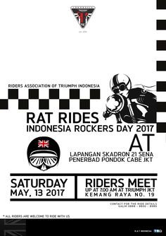 RAT Rides - Indonesia Rockers Day 2017