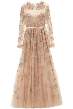 Floral Valentino Gown