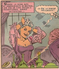 Marie Antoinette appears in a Mexican comic book!