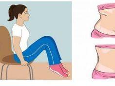 Stáhněte a vyformujte si břicho s těmito 5 židlovými cviky