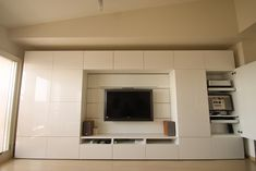 Fitted Bedroom Furniture, Fitted Bedrooms, Big Bedrooms, Tv In Bedroom, Living Room Built Ins, Ikea Living Room, Living Room Cabinets, Living Room Interior, Bedroom Cupboard Designs