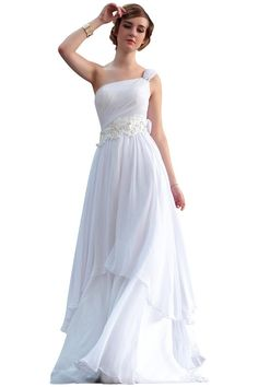 Hey, I found this really awesome Etsy listing at https://www.etsy.com/listing/203678908/simple-single-shoulder-ivory-wedding