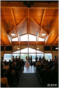 Stunning wedding venue shot at the St. Boniface Golf and Country Club