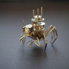 Insecto robot casero