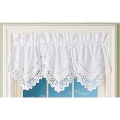 handkerchief curtains.. No Sew Curtains, Valance Curtains, House, Home Decor, Decoration Home, Home, Room Decor, Home Interior Design, Homes