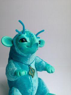 The Lagoon Dragon DRAGON TOY n Ooak Fantasy Creature Doll Art