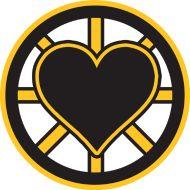 Design ~ Bruins Heart www.backtobeantown.com
