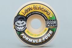 Spitfire 54mm 99DU Oliveira Formula Four Conical White Wheels