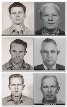 Digitalized age progression photos were made of Frank Morris, Clarence Anglin and John Anglin, who escaped from Alcatraz in 1962, to give an indication of what the men would look like today.
