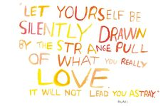 Let Yourself Be...