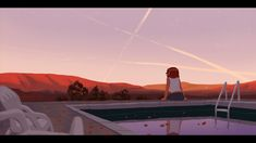 ArtStation - Sunset Pool, Mike Redman