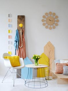 Beistelltisch // Side table by Villka Hillka via DaWanda.com