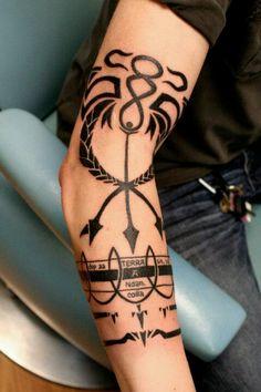Scar's alchemy tattoo.now thats a fan