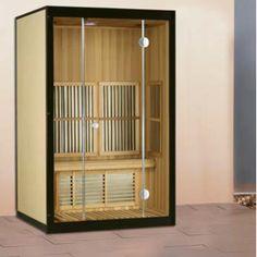 Komen de rillingen al weer van het gure weer ? Zoek de warmte op met onze Mica line infrarood sauna.  Voor meer informatie bezoek onze website: www.tuindeco.com,  of informeer bij één van onze wederverkopers bij u in de buurt.   Mica line infrarood sauna 1  • B125xD100xH190cm  • 2 Persoons  • Mica verwarming  • Radio/CD  • Inbouw luidsprekers  • Canadees hemlock interieur  • Houtvezel panelen exterieur  • LED kleuren lichttherapie  • 220/240V
