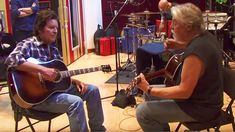 Exclusive, Rare Studio Footage Shows Bob Seger And John Fogerty Recording This All-Time Classic!
