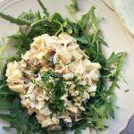 'Pindakaas' zonder.... pinda's » De Voedzame Keuken Pasta, Kefir, Salad Recipes, Potato Salad, Sushi, Food And Drink, Lunch, Cheese, Meat