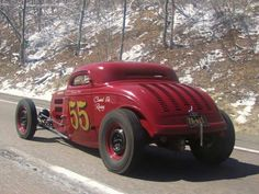 '34 Ford 3window coupe - built by Rolling Bones | owned by George Poteet