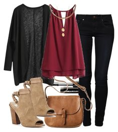 """""""Elena inspired bowling outfit"""" by kit-kat227 ❤ liked on Polyvore featuring Forever 21, even&odd, Toast, Joe's Jeans and Jennifer Zeuner"""