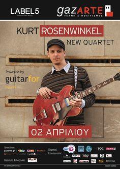 Kurt Rosenwinkel New Quartet @ gazARTE