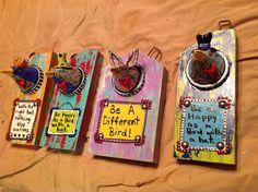 Funky Birds by Jodie Flowers $50 each