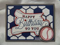 Thursday, March 20, 2014 Luv 2 Cre8 With U!: Hexagon Hive Thinlits Birthday Card