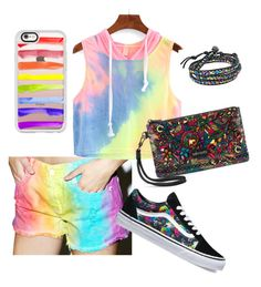 """""""Untitled #53"""" by nermina85-1 ❤ liked on Polyvore featuring Cosmic Unicornz, Casetify, Vans, Sakroots and AeraVida"""