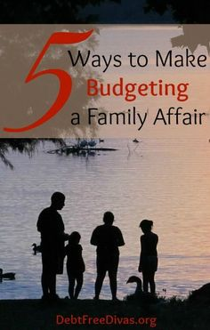 """5 Ways to Make Budgeting a Family Affair. Doing this means the girls will understand why we do not buy that toy they so called """"need"""". If we are all in it together, then we can do big family things (trips, etc.) together & have the satisfaction that it was a group effort. saving money tips, saving money ideas, saving, #money tips"""